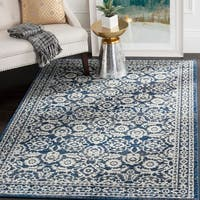 Safavieh Evoke Vintage Royal Blue/ Ivory Distressed Rug - 11' x 15'