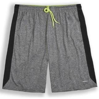 Heather Mesh Panel 11-inch Basketball Shorts