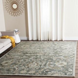 Safavieh Handmade Bella Grey/ Multi Wool Rug (6' x 9')