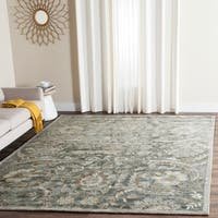 Safavieh Handmade Bella Grey/ Multi Wool Rug - 6' x 9'