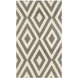 Safavieh Handmade Cedar Brook Ivory/ Grey Jute Rug (2' 3 x 3' 9)
