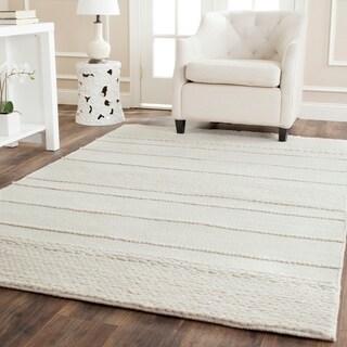 Safavieh Handmade Natura Natural Wool Rug (11' x 15')