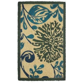 "Kosas Home Nadine Handmade Coir Doormat (18"" x 30"")"