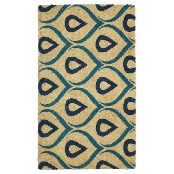 """Kosas Home Kendall Coir Handmade Doormat (18"""" x 30"""")"""