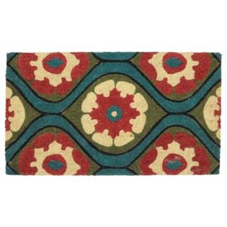 """Kosas Home Mirasol Coir Handmade Doormat (18"""" x 30"""")"""