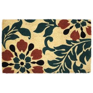 """Kosas Home Agnes Coir Handmade Doormat (18"""" x 30"""")"""