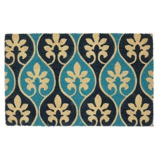 "Kosas Home Lorain Coir Handmade Doormat (18"" x 30"")"