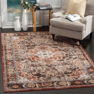 Safavieh Bijar Brown/ Rust Rug (6' 7 x 9')