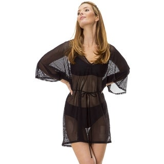 Women's Mesh Laser Cut Coverup by Mazu Swim