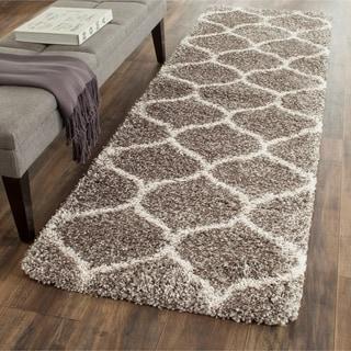 Safavieh Hudson Shag Grey/Ivory Rug (2' 3 x 6')
