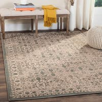Safavieh Brilliance Vintage Cream/ Black Distressed Rug (5' 1 x 7' 6)