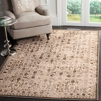 "Safavieh Brilliance Vintage Cream/ Bronze Distressed Rug - 5'1"" x 7'6"""