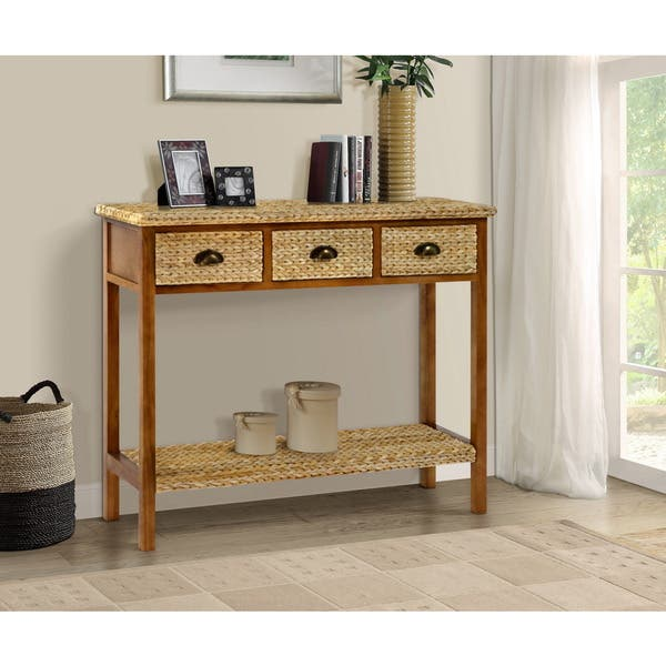 Enjoyable Shop Gallerie Decor Bali Breeze Console Table On Sale Ibusinesslaw Wood Chair Design Ideas Ibusinesslaworg