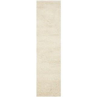 Safavieh Santa Monica Ivory Polyester Rug (2' 3 x 11')