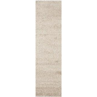 Safavieh Santa Monica Beige Polyester Rug (2' 3 x 11')
