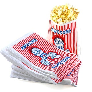 Premium Grade 2 Ounce Movie Theater Popcorn Bags (Pack of 100)