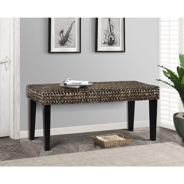 Tremendous Shop Gallerie Decor Bali Breeze Hallway Bench Free Pabps2019 Chair Design Images Pabps2019Com