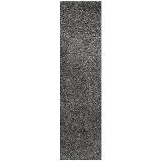 Safavieh Santa Monica Dark Grey Polyester Rug (2' 3 x 11')