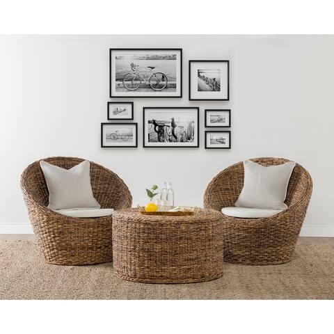 Gia Hand Woven Rattan Chair by Kosas Home