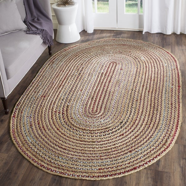 Safavieh Cape Cod Handmade Natural Multi Jute Natural