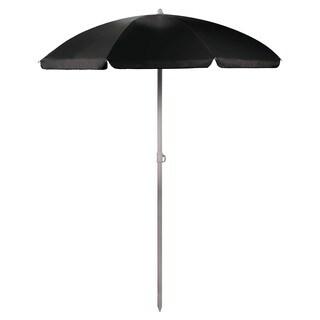 5.5-foot BlackPortable Beach/Picnic Umbrella (As Is Item)