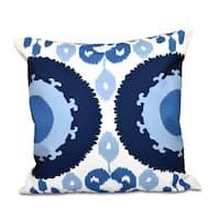 Boho Geometric 20 x 20-inch Outdoor Pillow