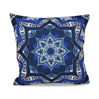 Shawl Geometric 20 x 20-inch Outdoor Pillow