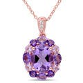 Amethyst Gemstone Necklaces by Herat Oriental