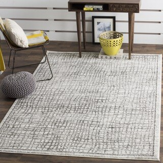 Safavieh Adirondack Silver/ Ivory Rug (8' Square)