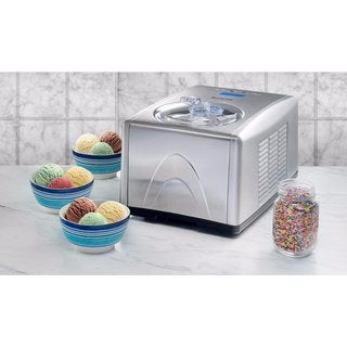 Knox 1.5-Quart Silver Ice Cream and Gelato Maker with Keep Cool Feature