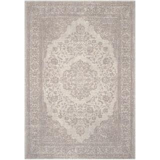 Safavieh Classic Vintage Beige Cotton Rug (6' x 6' Square)
