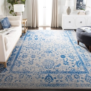 Safavieh Adirondack Vintage Distressed Grey / Blue Rug (4' Square)