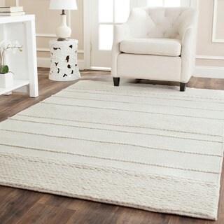 Safavieh Handmade Natura Natural Wool Rug (8' Square)