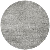 Safavieh Santa Monica Silver Polyester Rug - 6' 7 Round
