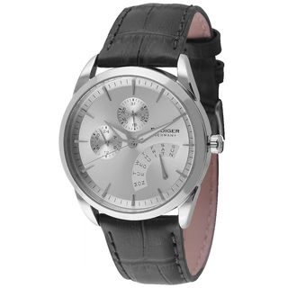Rudiger Mens Hamelin Leather calfskin Black Watch