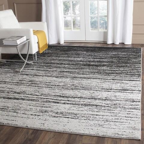 Safavieh Adirondack Vera Ombre Silver/ Black Rug - 8' x 8' Square