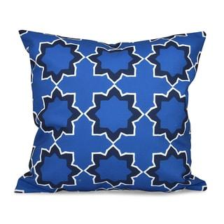 Bohemian Geometric 18 x 18-inch Outdoor Pillow