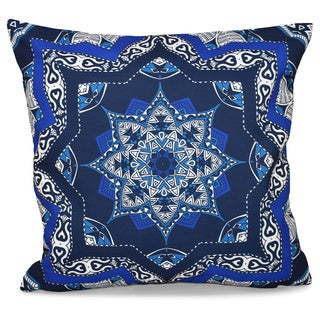 Shawl Geometric 18 x 18-inch Outdoor Pillow