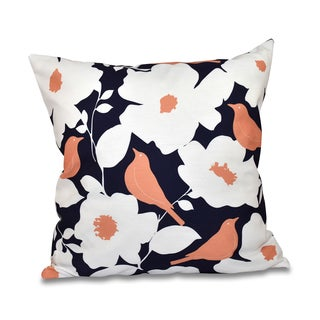 Modfloral Floral 18 x 18-inch Outdoor Pillow