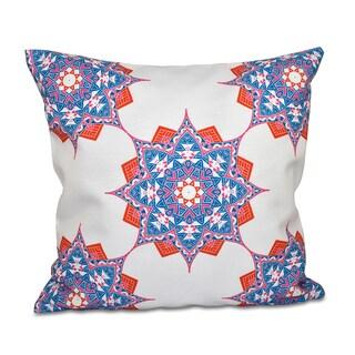 Rhapsody Geometric 18 x 18-inch Outdoor Pillow
