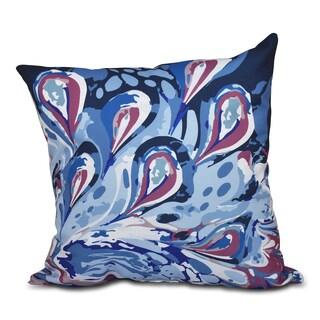 Boho Splash Geometric 18 x 18-inch Outdoor Pillow