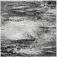 Safavieh Adirondack Modern Abstract Silver/ Multicolored Rug - 8' Square