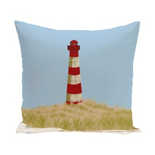 Sea Pines Geometric Print 18 x 18-inch Outdoor Pillow