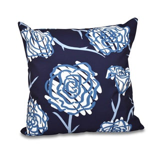 Spring Floral 2 Floral 18 x 18-inch Outdoor Pillow