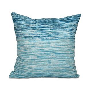Ocean View Geometric Print 18 x 18-inch Outdoor Pillow