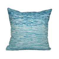 Ocean View Geometric Print 18 x 18-inch Outdoor Pillow