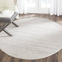 Safavieh Adirondack Vintage Ombre Ivory / Silver Rug - 8' Round