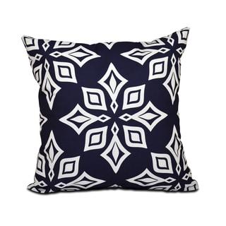 Beach Star Geometric Print 18 x 18-inch Outdoor Pillow