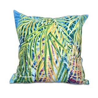 Malibu Floral Print 18 x 18-inch Outdoor Pillow