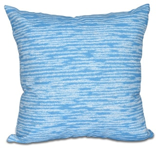 Marled Knit Geometric Print 18 x 18-inch Outdoor Pillow